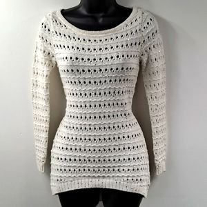 Like New! Cache Sequin Sweater XS